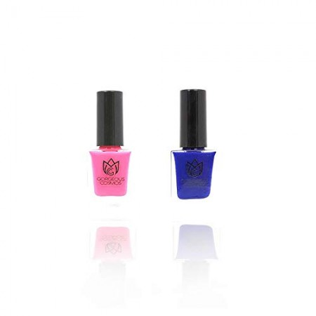 Classic Combo - Nail Polish Oxford, Neon Punch Toxic Free 10 + 10 Ml (Color C10015, C10019)