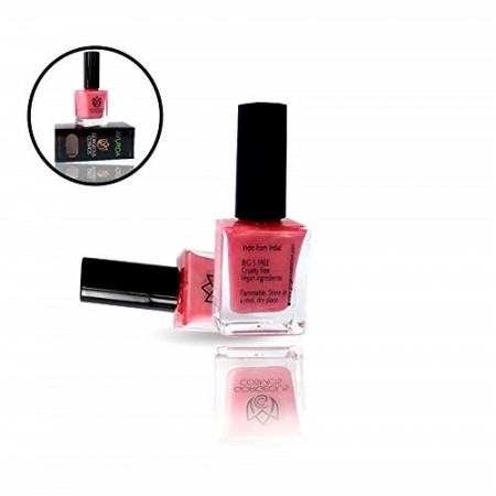 Coral Ayurda - Toxic Free Pink Nail Polish 10 ml (Color A10007)