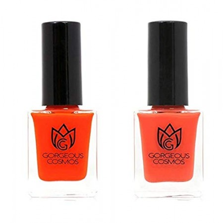 Classic- Combo Tomato Tango & Candy Apple Toxic Free Nail Polish 10 Ml