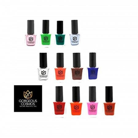 Classic Combo offer - (Pack of 12) Nailpolish 120 Ml (10 Ml Each)