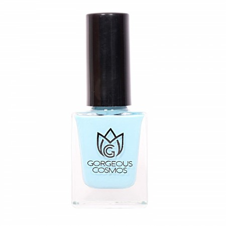 Premium-Cadet Shade (Light Blue Color) Toxic Free Nail Polish 10 Ml