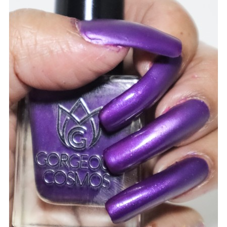 Water based nail polish Purple - Black Currant Candy