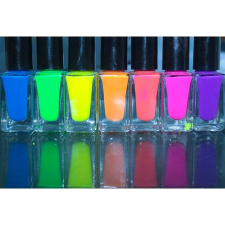 Set of 7 Nailpolishes