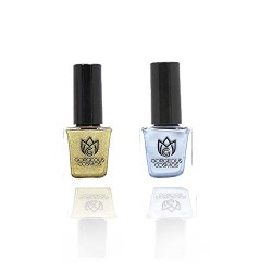 Classic Combo - Nail Polish of Dancing Girl & Silk Shoes Toxic Free 10+10 Ml