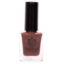 Premium- (Chocolate color) Carob Shade Toxic Free Nail Polish 10 Ml