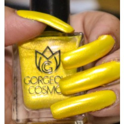Water based Yellow Polish