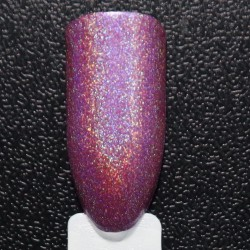 Gorgeous Cosmos Linear Holographic DRENCHED BLOSSOMS Non Toxic Pink Nailpolish 10 ml