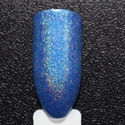Blue Colour Holographic Nail Polish